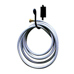 Wrought Iron Black Wall Mount Hd Garden Hose Holder 8 Tall Holds 100and039 Of Hose