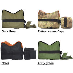 Laspur Tactical Shooting Gun Rest Bench Front Rear Sand Bag Combo Set Unfilled $11.98
