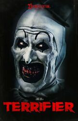 Terrifier movie poster a 11quot; x 17quot; inches Horror