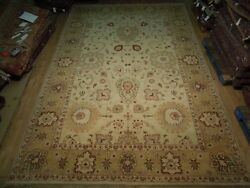 Large New Soft Ivory Jaipur 4.6 X 3 M Handmade Rugs Usa 10and039 X 15and039 Rug