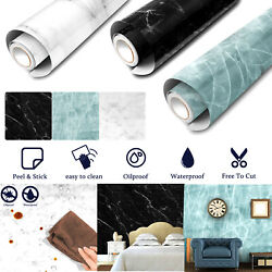 Marble Contact Paper Self Adhesive Peel amp; Stick Wallpaper PVC Kitchen Countertop
