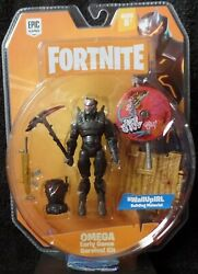 Fortnite Action Figure Lot Teknique Raptor Omega Loot Chest Pickaxe Rifle 4 New