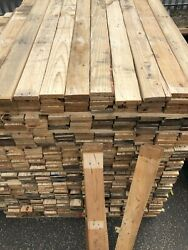 Reclaimed Pallet Wood - Wall Cladding Recycled Timber Planks Boards - 1sqm