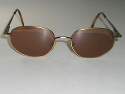 SERENGETI ITALY 6431 SLEEK BRONZE FRAME ROSE CRYSTAL LENS FLEX HINGE SUNGLASSES $183.99