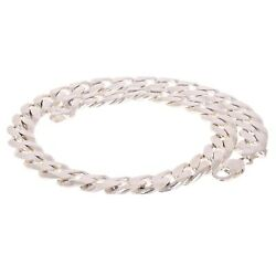 925 Sterling Silver Solid Cuban Link Chain Necklace 13mm 33.5 256.6grams