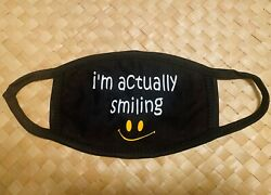 Reusable cotton customized face mask with inspirational quote - Personalize  $9.99