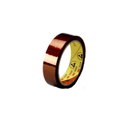 3m Low-static Polyimide Film Tape 5419 Gold, 12 In X 36 Yds X 2.7 Mil