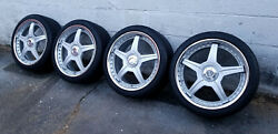 Racing Hart M5 Wheels - Dazz Motorsports 17 3-piece Forged Nitto - Incredible