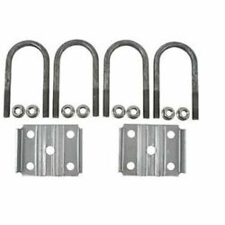 New Trailer U Bolt Kit For 3500lbs 2-3/8 Round Axle 5-1/2 Long 1/2 Dia -20079