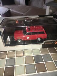 Very Rare Premium X 1/43 Jeep Wagoneer New Jersey Lakes Fire Dept New Pdr115