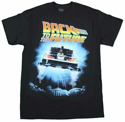 Officially Licensed Back to the Future Outatime Black T-Shirt Tee Vintage New $14.99