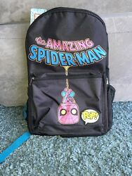 Funko Marvel Spiderman Blacklight Backpack Target Exclusive Brand New With Tags $9.98