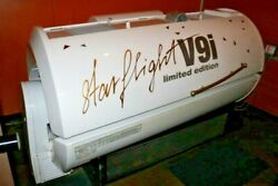 Star Flight V9i Commercial Tanning Bed With A/c 3 Phase May Work Or For Parts