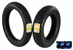 Pirelli Mt 66 Route 110/90-19 150/90-15 Front And Rear Cruiser Motorcycle Tire Set
