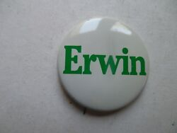 Maine Governor Pin Back Campaign Button Jim Erwin Political Local Badge James