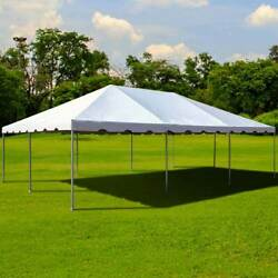 Commercial 10and039 X 20and039 West Coast Frame Tent White Party Event Waterproof Canopy