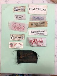 Vintage Clothing Labels Greensboro Stores Ellis Stone Peck And Peck Bernetti