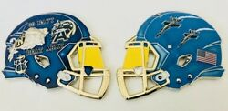 Army Navy Game Blue Angels Jets Football Challenge Coin Cpo Mess Flag Non Nypd