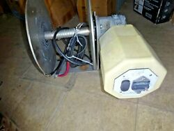 Rebel Ez4 Drum Anchor Winch For Boats 30and039 - 55and039 316 Ssl Gearbox And Motor