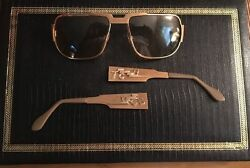 Elvis Presley personal worn&owned 14 k gold TCB sunglasses