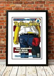 Rolling Stone Magazine Cover Posters   34 To Choose From   Framed Or Unframed
