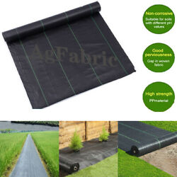 Agfabric 3.0oz Weed Barrier Fabric Woven Ground Cover Heavy-duty Landscape Usa