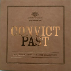 💰2011 Convict Past With 6x 1/25oz .9999 Gold Coins And Rare Mini Stamp Sheet- Ram