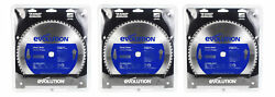 Evolution Power Tools 14bladest Steel Cutting Saw Blade, 14-inch 66-tooth 3pc.