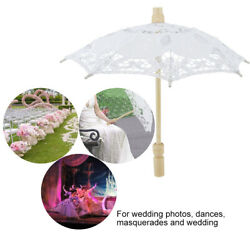Bridal Lace Umbrella Embroidery Parasol Photography Parties Wedding Supply Decor $8.75