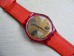 1990 Swatch Watch Louis Louis Leather band $60.00