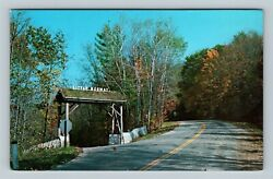 Blue Mounds Wi Entrance Little Norway Museum Chrome Wisconsin Postcard