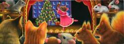 ACEO CHRISTMAS CATS TREE CANDLES SQUIRRELS MICE  BALLERINA NUTCRACKER PAINTING