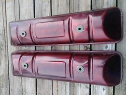 Pair Amc Rambler Jeep Valve Covers 287 327 With New Gaskets Ready To Bolt