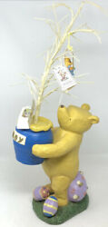 Disney Classic Winnie The Pooh Easter Tree Midwest Cannon Falls 25 1/2 Tall Htf