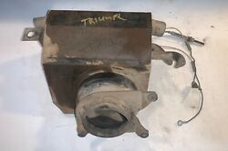 Tested And Working Smiths Heater Assembly W/ Motor And Fan Off Triumph Tr4a —- B—2