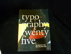 Typography 25 By Diego Vainesman And Type Directors Club Staff 2005 Hardcover
