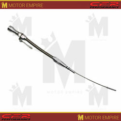 Fit 1962-1969 Ford 302 Stainless Braided Billet Handle Flexible Dipstick Natural