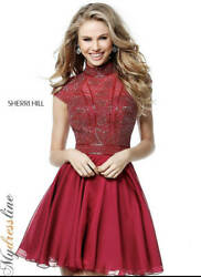 Sherri Hill 51291 Short Cocktail Dress Lowest Price Guarantee New Authentic