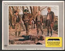 Journey To Shiloh-lobby Card-7-1968-james Caan-don Stroud-michael Burns