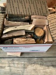 Pear Wood Chunks For Smoking, Bbq And Grilling - Free Priority Shipping