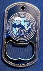 Awesome 2 Navy Usn Challenge Coin Greater New Orleans Birthday Ball 2015