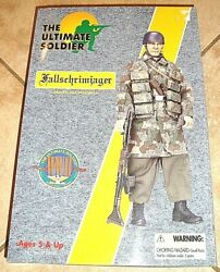 The Ultimate Solider Authentic Wwii Fallschrimjager German Paratrooper 12 A.f.