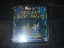 Scooby-doo - Escape From The Haunted Mansion Board Game New + Sealed