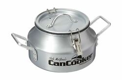 Cancooker Silver Lid Gallon Safe Convection Steam Cooking Meals Kitchen Hunting