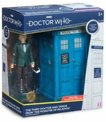 Doctor Who - Third Doctor And Tardis 5 Action Figure Set-cha07228-character Group
