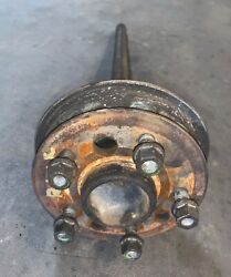 Right Half / Axle Shaft W/ Backing Plate Off A 1968 Mercedes Benz 280se W108 -t2