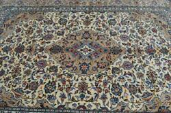 6and0397 X 9and0393 Rare Light Colors Fine High Kpsi Semi Antique Handmade Wool Area Rug