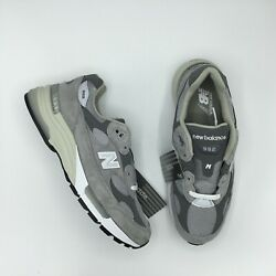 NEW BALANCE 992 M992 M992GR GRAY WHITE MADE IN USA Size 5 13 BRAND NEW