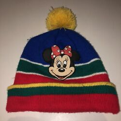 Vintage 80s 90s Disney Beanie Minnie Mouse Collectible Fits Adult Or Big Kid