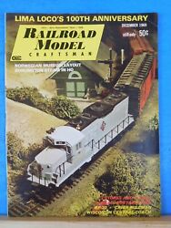 Railroad Model Craftsman Magazine 1969 December Rmc 3 Stores And A Shop Gp-20 Criand